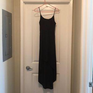 Aqua high low black dress